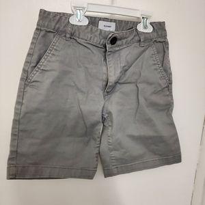Boys size 8 gray shorts by Old Navy
